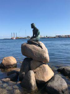 malá morská víla Kodaň