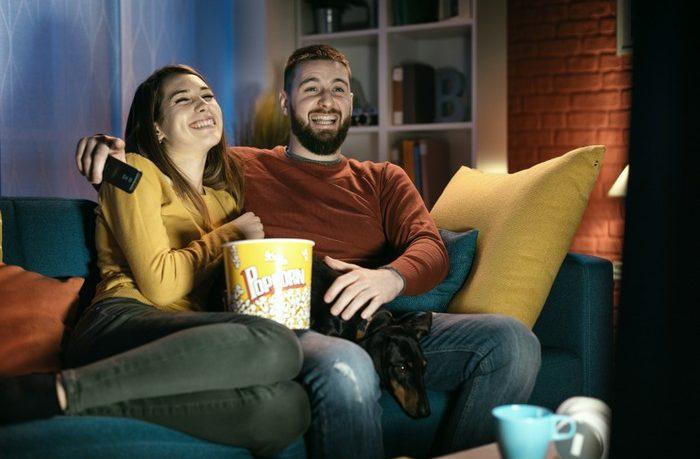 televízor a ambilight