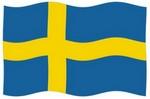Švédsko zástava