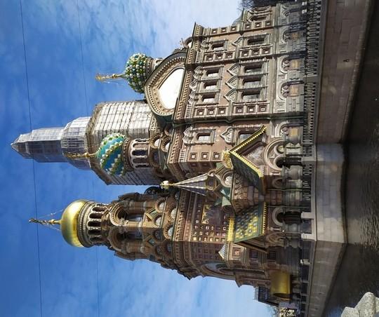 Petrohrad - Chrám Kristovho vzkriesenia