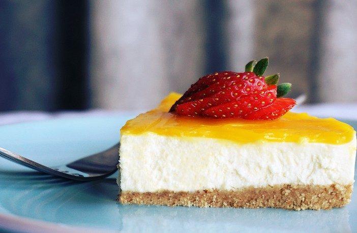 recept na domáci cheesecake