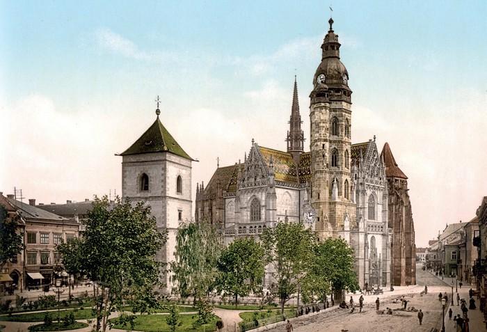 Dóm sv. Alžbety na začiatku 20.storočia