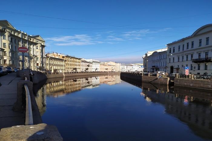 Petrohradské kanály pri rieke Mojka.