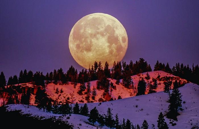 spln mesiaca a vplyv na ľudí