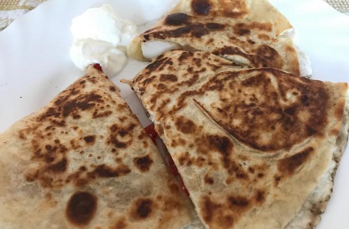 rýchla večera mexická quesadilla