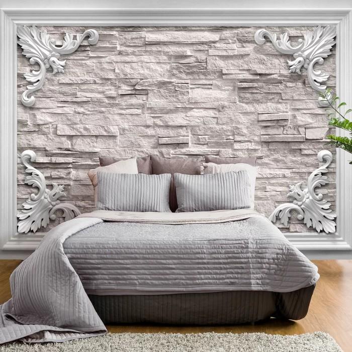 tapety do spálne tehlová stena