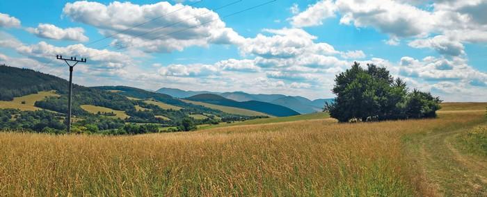 Poľná cesta medzi Babincom a Močiarmi