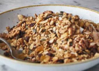 recept domáca granola