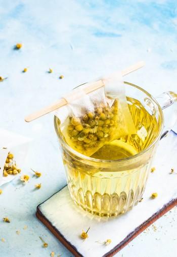 čaj rumanček kamilkový, harmanček