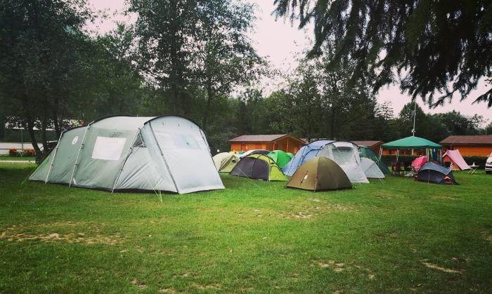 kempovanie na Slovensku - Camping Belá Nižné Kamence