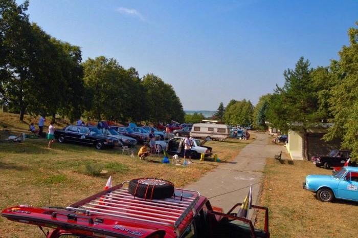 kempovanie na Slovensku - camping Hôrka