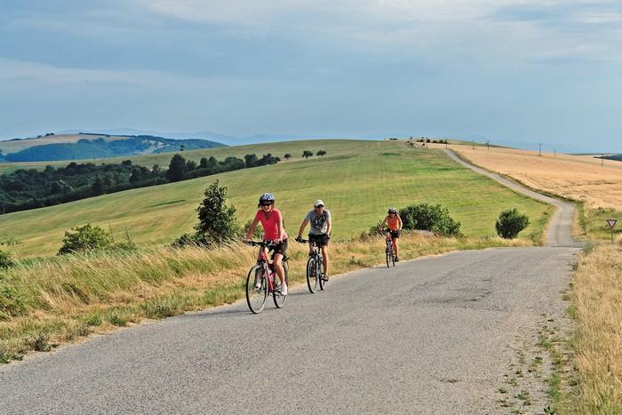 spoznávajte Slovensko na bicykli
