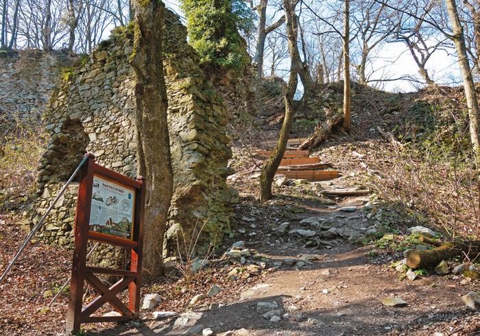 zabudnuté hrady Malých Karpát - Biely Kameň