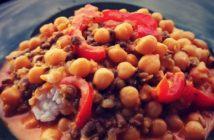 cícerovo-mungové karí recept