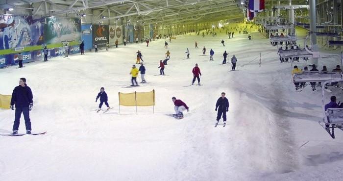 Donovalley Resort lyžiarska hala Landgraaf v Holandsku