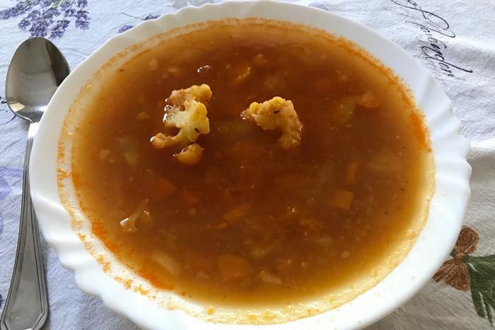 detské minestrone recept