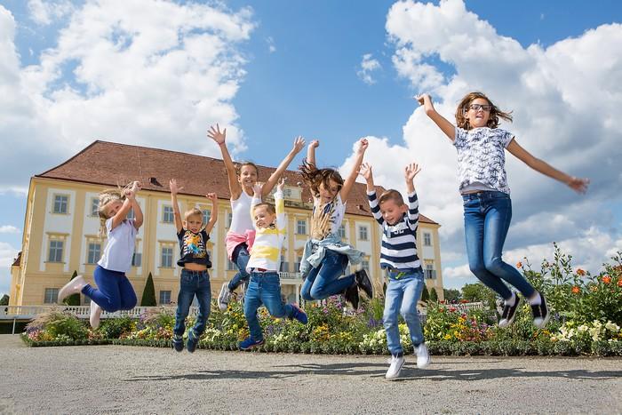 schlosshof pre rodiny s deťmi