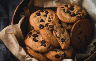 recept na čokoládové cookies