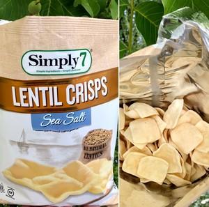 simply 7 lentil crisp