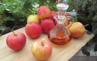 recept na jablčný ocot