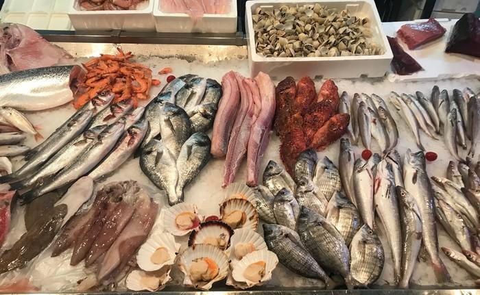Pula rybí trh
