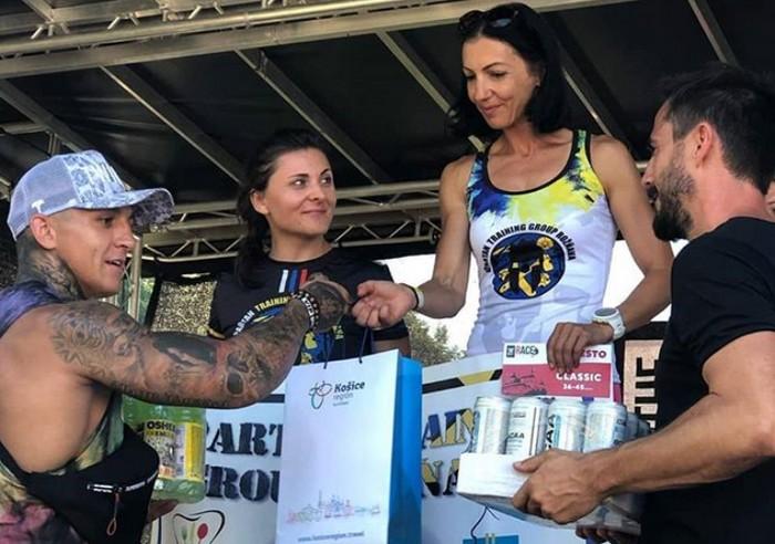 The Race  Iveta Širgelyová Pazerová inšpiratívna žena