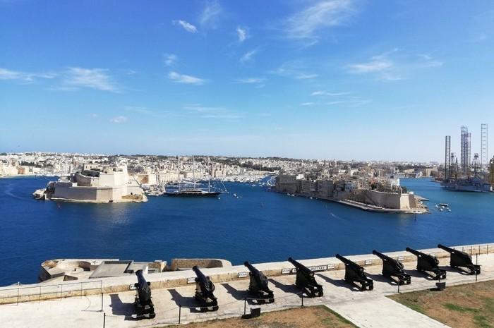 Malta Valletta výhľad