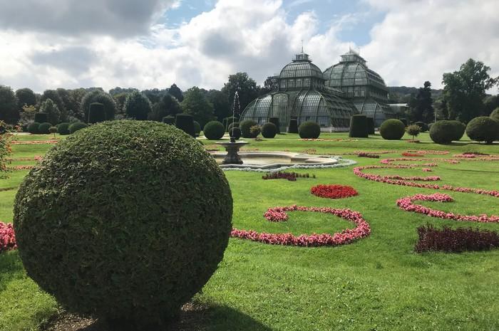 ZOO vo Viedni - zámocký park