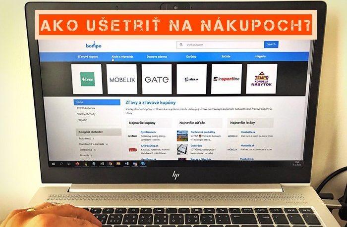 ako ušetriť na nákupoch cez internet