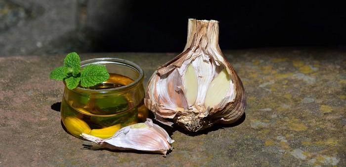 recept na cesnakový olej