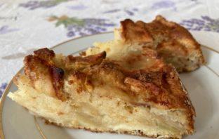 recept na jablkový koláčik