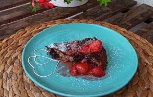 recept na kokosový koláč s chia
