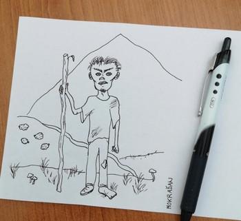 Ikabog kresba