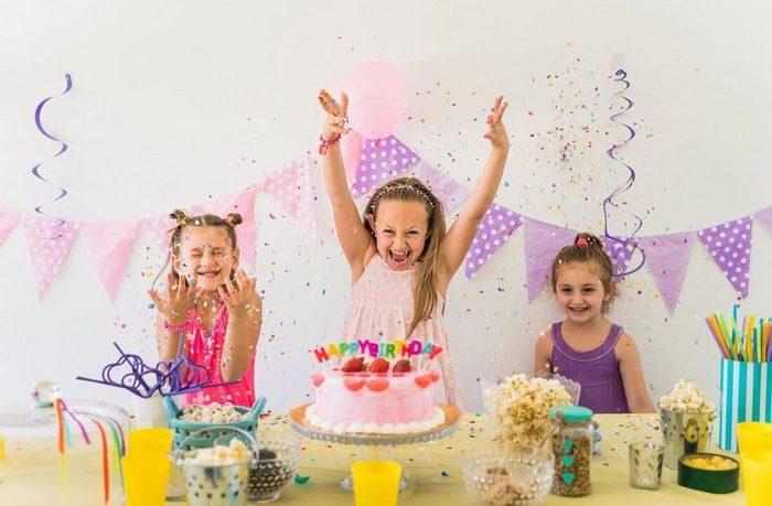 detská oslava môže byť aj doma