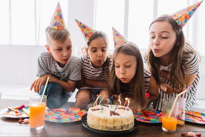 skvelá detská oslava