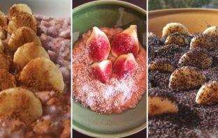 kaše na raňajky 3 recepty