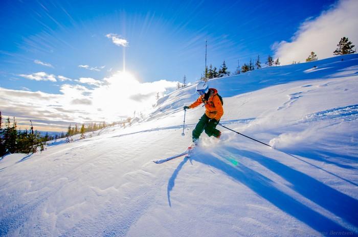 fit vďaka lyžovaniu