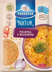 Podravka NATUR polievka s bulgurom