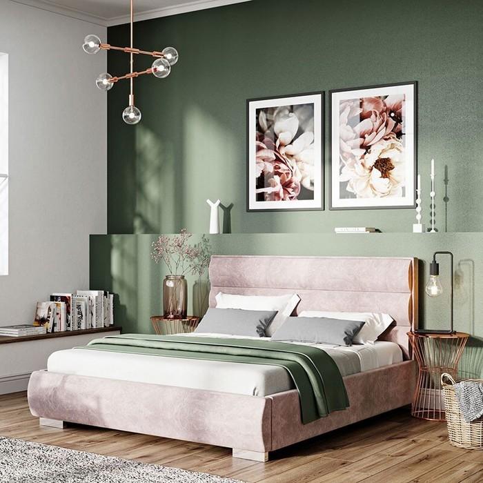 posteľ a zariaďovanie spálne