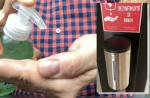 správna dezinfekcia rúk