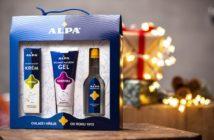 darčekové balenie alpa pre starých rodičov