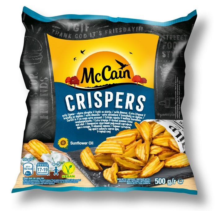 McCain hranolčeky Crispers