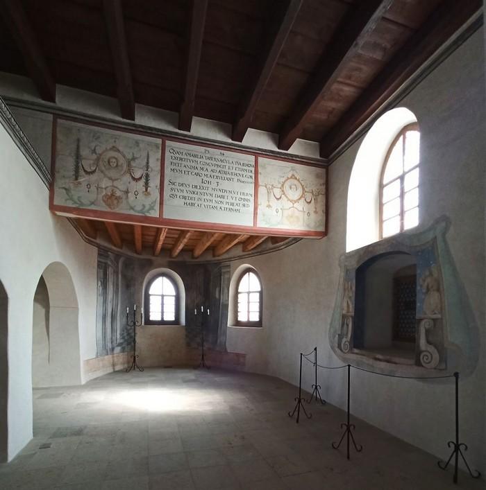 Kaplnka na hrade Ľupča