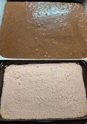 čokoládovo - tvarohové rezy Míša postup