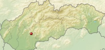 Hronský Beňadik mapa