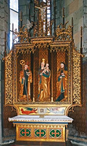 oltár benediktínsky kláštor