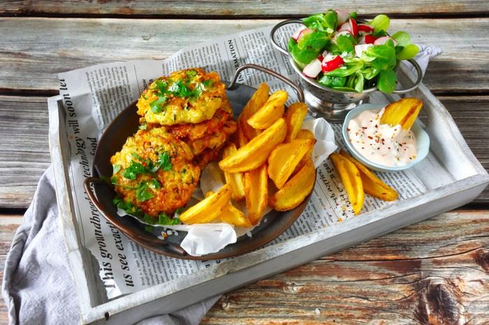 streetfoodové recepty - zeleninové placky so syrom