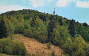 vrch Sitno v Štiavnických vrchoch