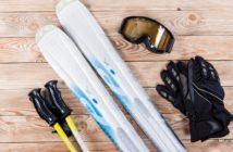 profesionálna výbava pri lyžovaní