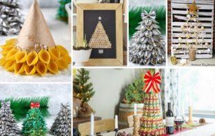 alternatívny vianočný stromček